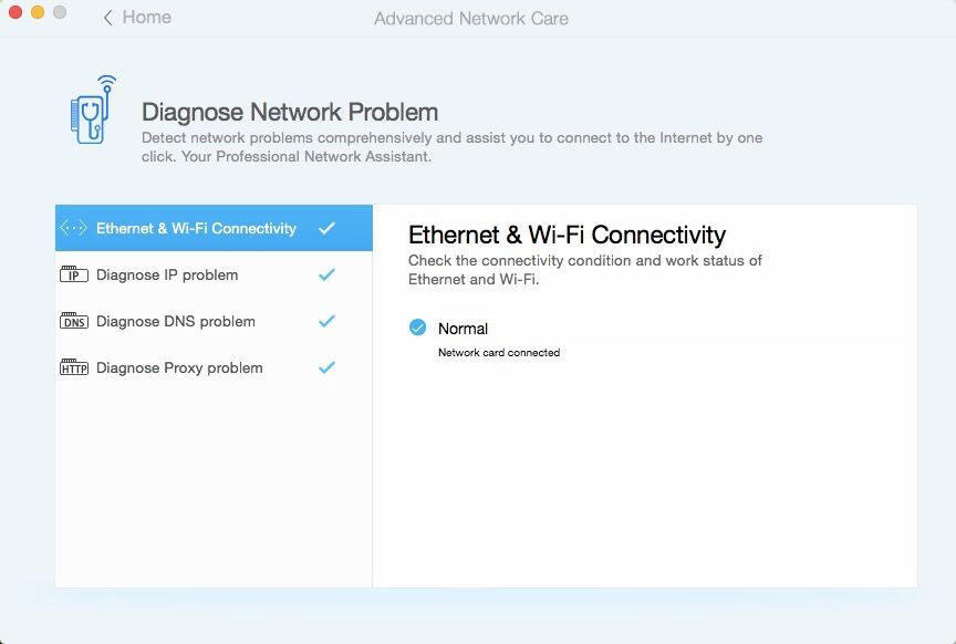 Diagnose Network Problem
