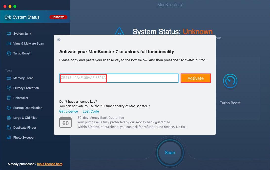 macbooster 5 license code