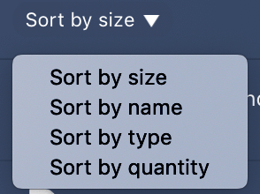 Sort by